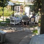 Tottie's Farm Kitchen Tea Garden Area