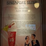 History of the Singapore Sling