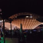 Rooftop bar view of the Metropol Parasol