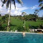 The pool at the Royal Villa, Villa Santun