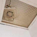 Extractor fan in the bathroom...