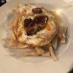 huevos foie i patatas