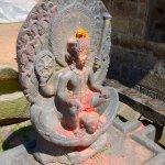 На территории Храма Чангу Нараян