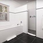 Bathroom of a luxury room