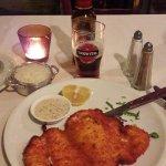 Foto van olive and fish