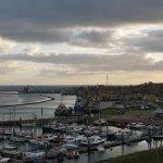 Uitzicht op de jachthaven en West-Terschelling