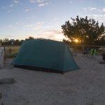 Sunrise at Atlantic Beach campground, site D. Very Nice !