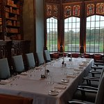 Recently renovated oakroom at Adare Manor