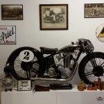 Ariel motorbike