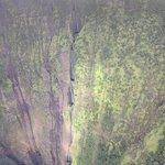 Three waterfalls in Wamanu Valley