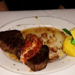 Petite filet with lobster was wonderful