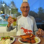 First whole lobster.
