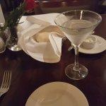 A fine dry martini