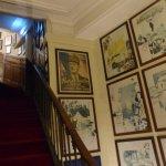 L'escalier d'accès aux chambres