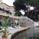 terrasse bord de l'eau