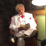 Mark Twain giving a reading at Elkhorn Inn & Theater