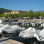 Der kliene Hafen in Garda