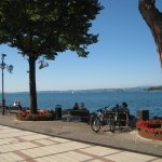 ein Stück Promenade in Garda