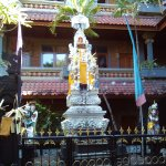 Hotel temple for offerings