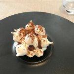 Dessert aux minis meringues