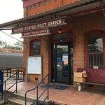 The still functioning post office