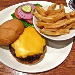 Have NEVER had a better tasting 1/2 lb cheeseburger in any restaurant in the USA.