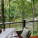 View of Mossman River from Treehouse Restaurant