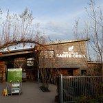 Entrée du parc de SAINTE- CROIX
