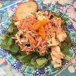 Chicken Curry Salad (half size)