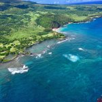 Here are some new photos of last week flying. Hana coastline with beautiful waterfalls and rainf