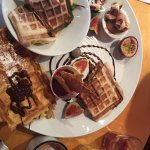 Piémontaise & Addictive waffles. Amazing!!