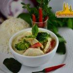 Green Curry Chicken @MyThaiNotreDame
