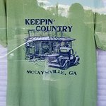 Mccaysville, Ga tour after our train ride.  Two hours to dine, shop here before getting back on