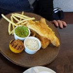 Haddock and Chips, gluten free