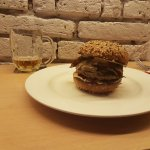 Great burgers, not that small as you would think