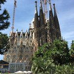 The Gaudi Cathedral draws in people to Barcelona.  Not a bad place to stop if you like Grotesque