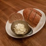 Warm whole wheat sour dough mini loaf