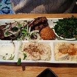 Kafta Mixed Plate - yum