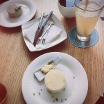 手作乳酪蛋糕照片