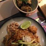 always my fav, calamari and the spicier Phad thai