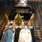 The tombs of two of the Dukes of Burgundy