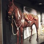 Wooden replica of one of Napoleon's favourite horses