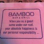 Bild från Bamboo Bar & Grill