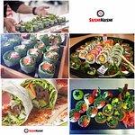 Nasze sushi m.in. bez ryżu owinięte w papier ryżowy...