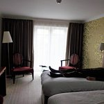 comfortable room with huge armchairs (room 101)