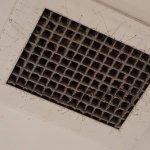 Air vent in apartment room