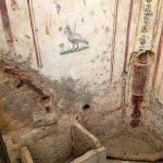 2000 year old fresco in Terrace House Ephesus