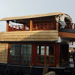 The 1 bedroom + living area houseboat
