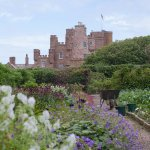 The walled garden is well worth looking around and you get some great views of the castle too