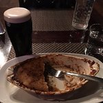 Shepherd's pie and perfect pint